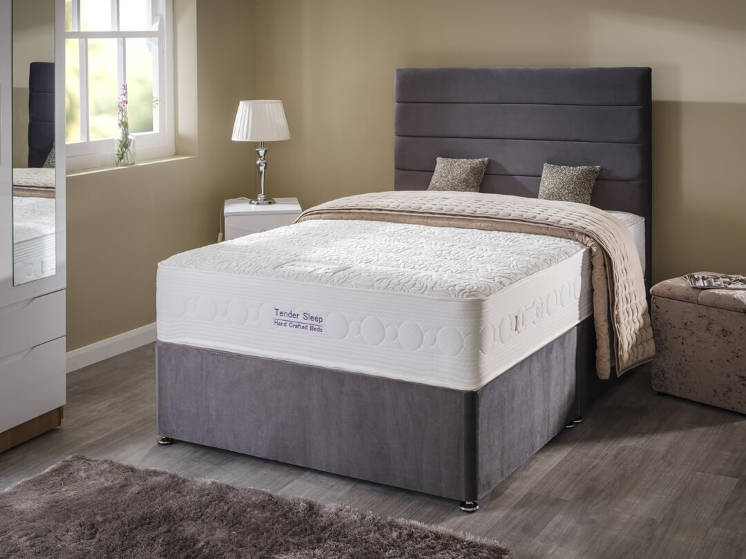 Luxurious beds tendersleep beds for The range divan beds